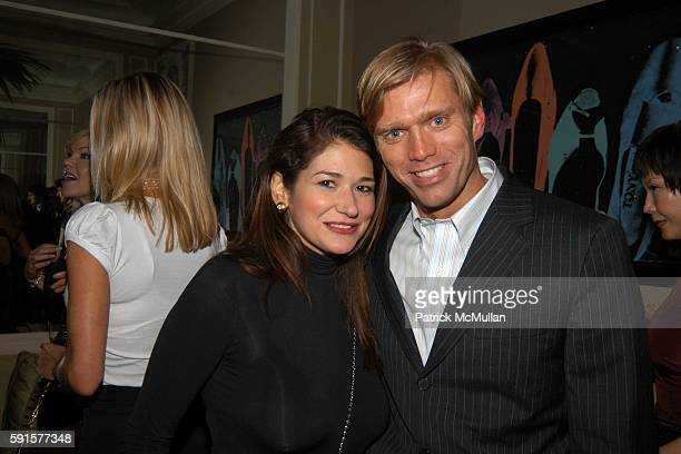 Randle Doss and Randy Florke attend Janna Bullock's Holiday Musicale at The Home of Janna Bullock on December 13 2005 in New York City