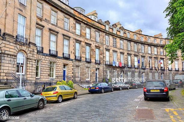 Randolph Crescent, Edinburgh, Scotland, United Kingdom.