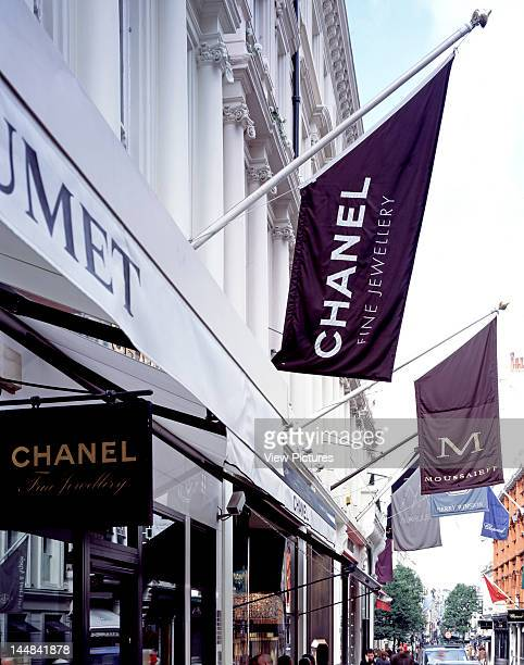 Random Commercial Property PortfolioUnited States Architect Na Bond Street London 2008Flags Above Stores