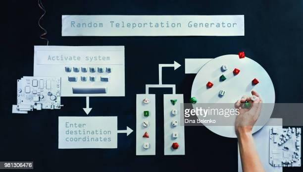 Random Teleportation Generator (Endless Book)