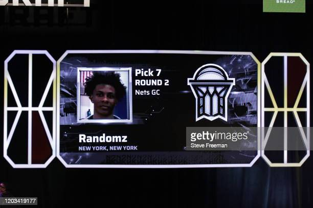 Randomz gets picked during the NBA 2K League Draft on February 22 2020 at Terminal 5 in New York New York NOTE TO USER User expressly acknowledges...