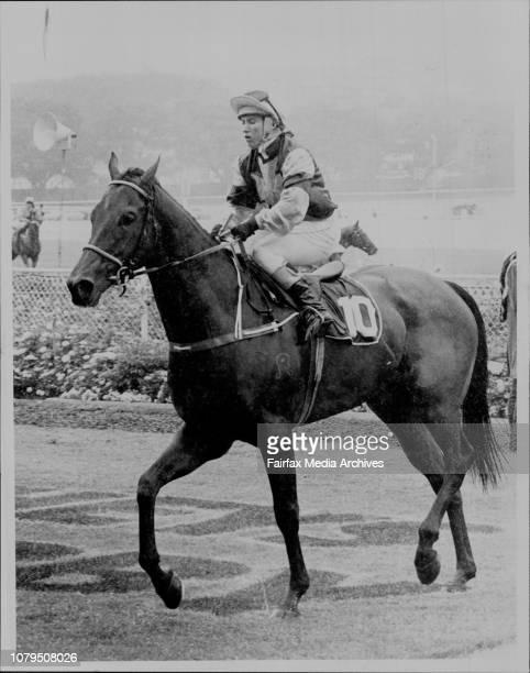 Randwick Race 2 - Return to scale Bigamy, jockey Maree Lyndon. April 18, 1987. .