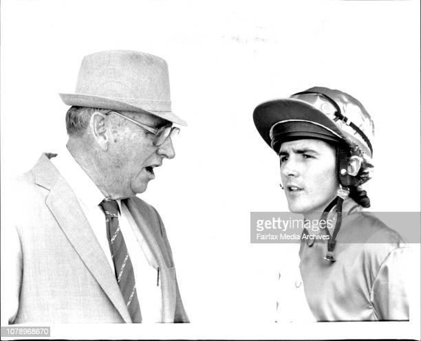Randwick Races Jockey N Paine and trainer AV McKenna