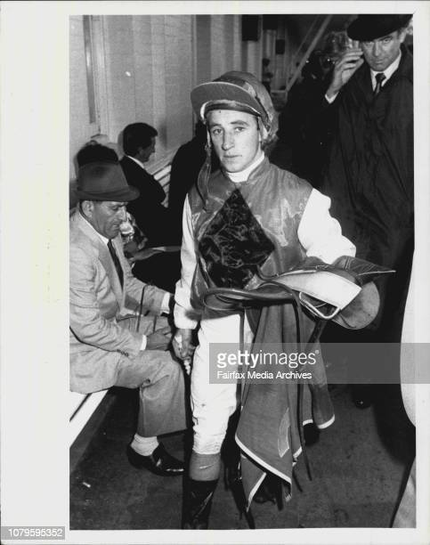 Randwick Races Race 6Jockey J Cassidy April 12 1986