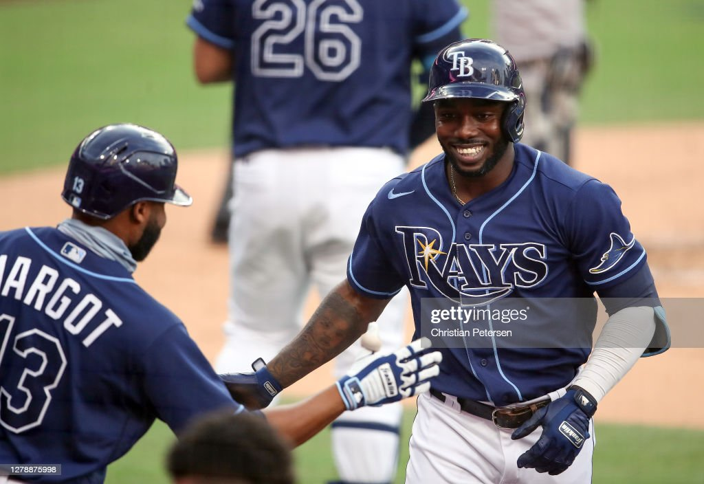 Division Series - New York Yankees v Tampa Bay Rays - Game Two : News Photo