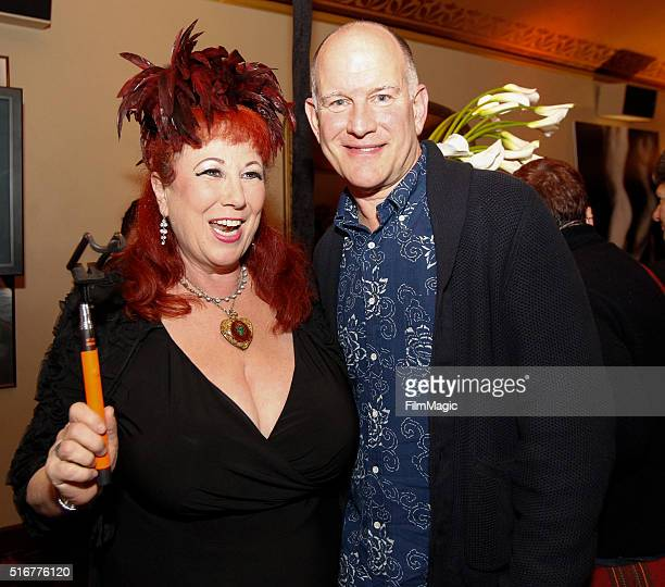 Randy Barbato and Annie Sprinkle at the San Francisco Premiere Of Mapplethorpe Look At the Pictures From HBO Documentaries at Castro Theater on March...