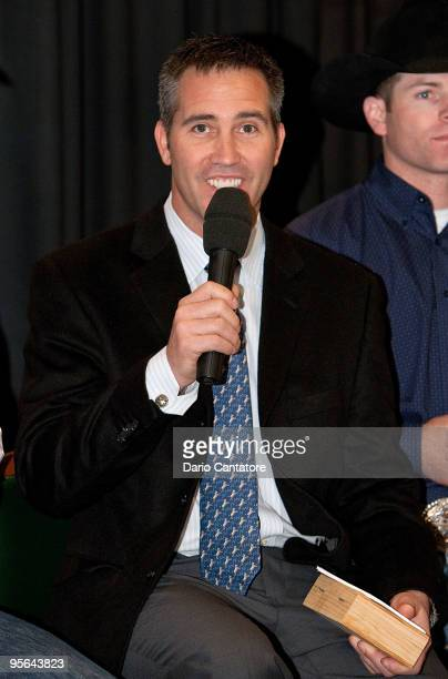 Randy Bernard attends the PBR & Garth Brooks Teammates For Kids Foundation press conference at Madison Square Garden on January 8, 2010 in New York...