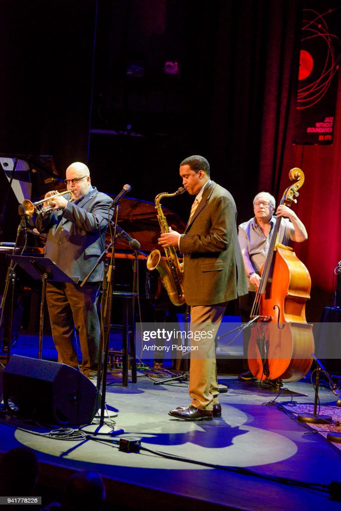 Randy Brecker, Javon Jackson, Eddie Gomez of Jazz By 5 ...