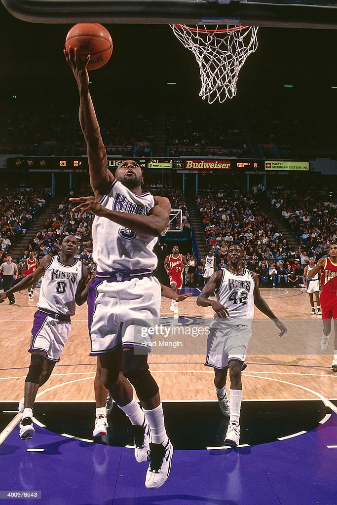 Randy Brown of the Sacramento Kings shoots the ball against