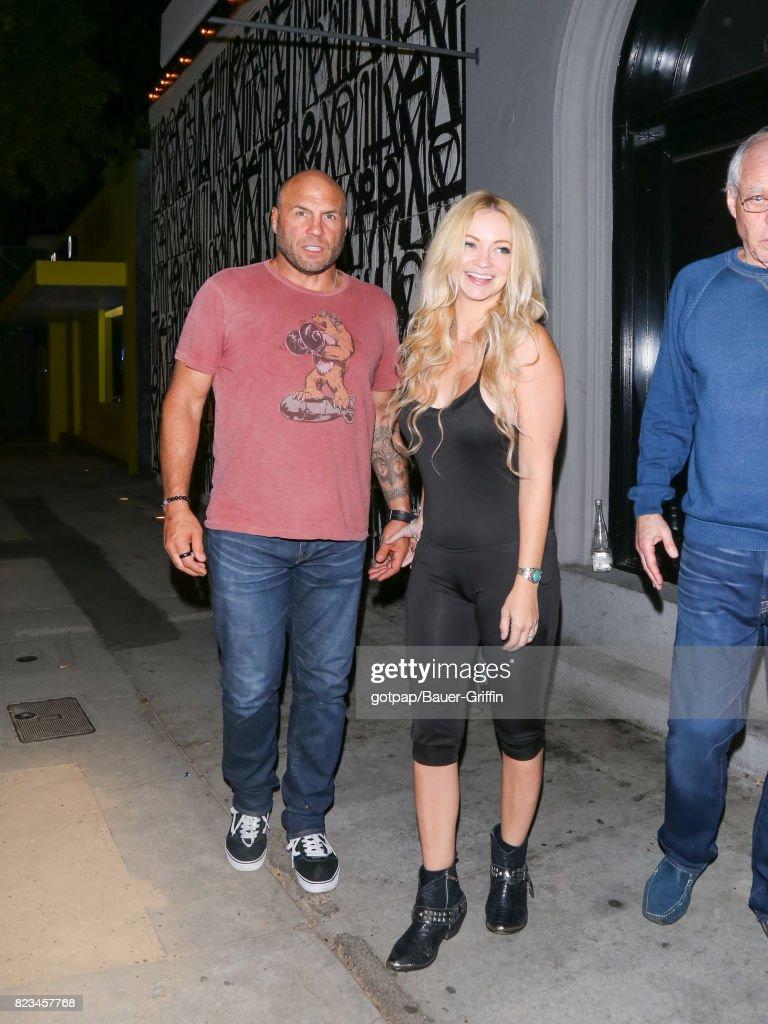 Celebrity Sightings In Los Angeles - July 26, 2017 : News Photo