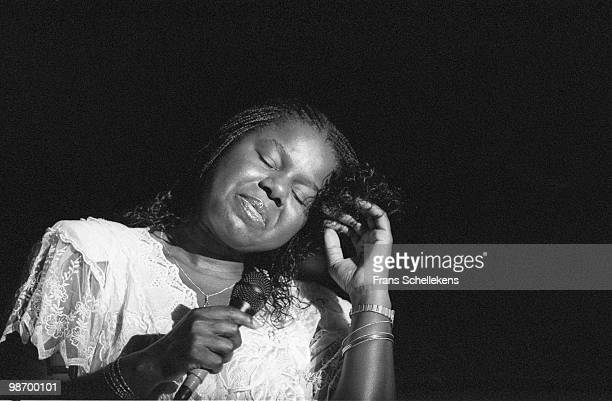 Randy Crawford performs live on stage at the North Sea Jazz Festival in The Hague, Netherlands on July 14 1990