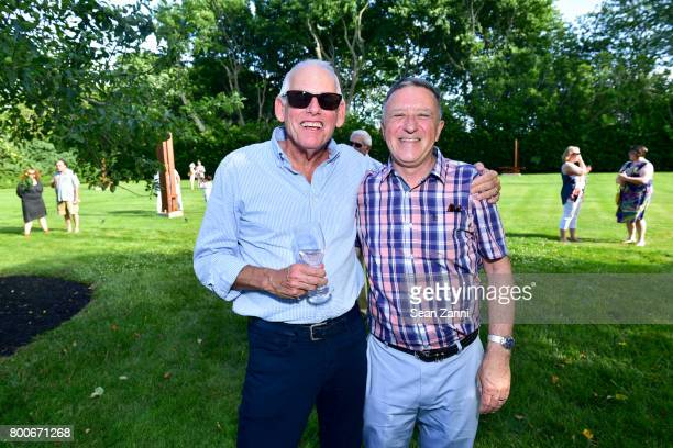 Randy Culpepper and Nicholas Howey attend Maison Gerard Presents Marino di Teana A Lifetime of Passion and Expression at Michael Bruno and Alexander...