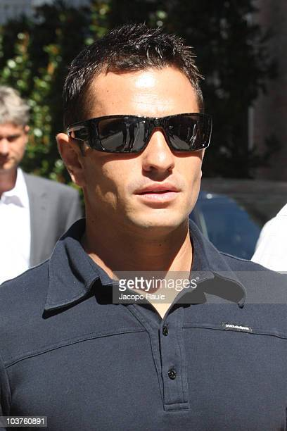Randy De Puniet is seen during the opening day of the 67th Venice Film Festival on September 1 2010 in Venice Italy