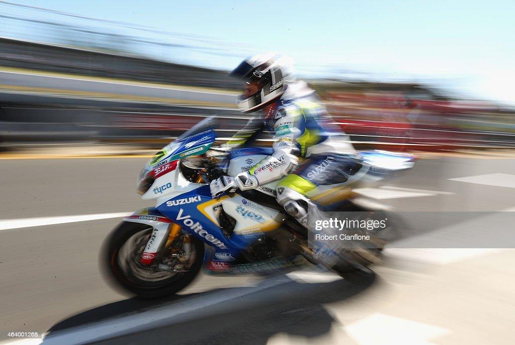 World Superbikes - Phillip Island: Practice & Qualifying