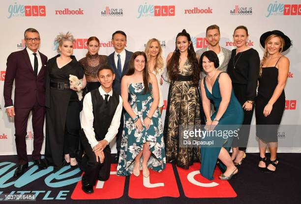 Randy Fenoli Kelly Osbourne Brittany Snow President and GM of TLC Howard Lee Jessie Chris Jazz Jennings and Derek Hough Jane Francisco Hayley Paige...