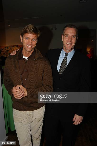 Randy Florke and Sean Patrick Maloney attend LIVE OUT LOUD 4th Annual Gala Benefit at Chelsea Art Museum on May 23 2005 in New York City