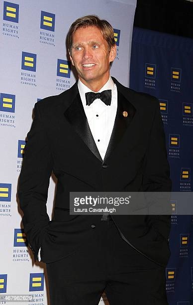 Randy Florke attends HRC's 2014 Greater New York Gala at The Waldorf=Astoria on February 8 2014 in New York City