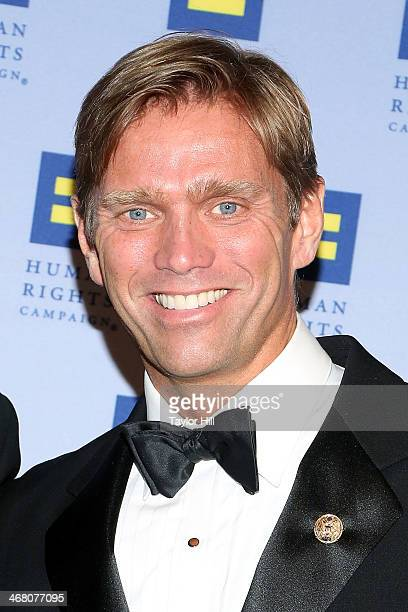 Randy Florke attends Human Rights Campaign's 2014 Greater New York Gala at The Waldorf=Astoria on February 8 2014 in New York City