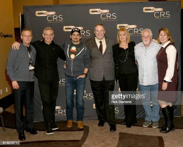 Randy Goodman CEO Chairman of Sony Music Nashville RJ Curtis Vice President VP Country Nashville Editor All Access Music Group artist Brad Paisley...