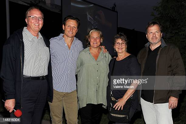 Randy Haberkamp Tony Goldwyn Jane Musky Jane Jenkins and Executive producer StevenCharles Jaffe attend The Academy of Motion Picture Arts and...