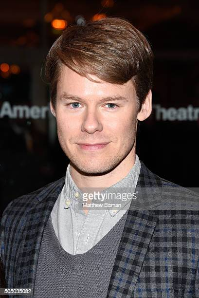Randy Harrison attends the 'Noises Off' broadway opening night at American Airlines Theatre on January 14 2016 in New York City