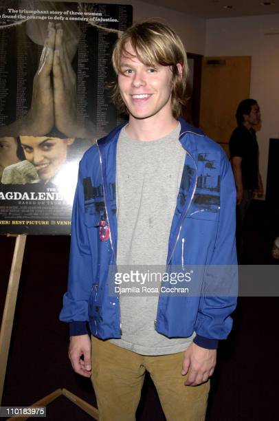 Randy Harrison during 'The Magdalene Sisters's' Screening at Lighthouse International in New York City New York United States