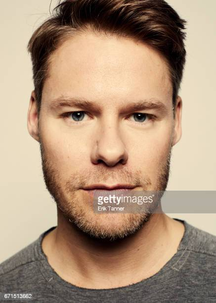 Randy Harrison from 'New York Is Dead' poses at the 2017 Tribeca Film Festival portrait studio on April 21 2017 in New York City