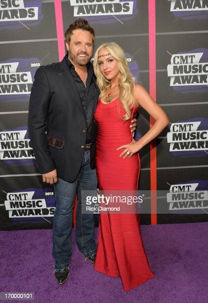 Randy Houser And Jessa Lee Houser Attend The 2013 Cmt