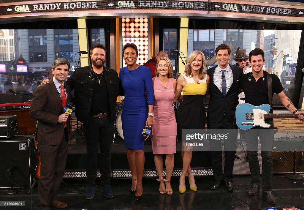 "ABC's ""Good Morning America"" - 2016 : Nachrichtenfoto"