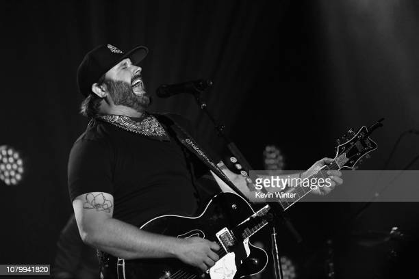 Randy Houser performs on stage during iHeartCountry Album Release Party at the iHeartRadio Theater LA in Burbank CA on January 9 2019