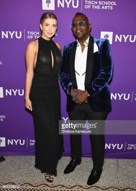 Randy Jackson and guest attend The New York University Tisch School Of The Arts 2018 Gala at Capitale on April 16 2018 in New York City