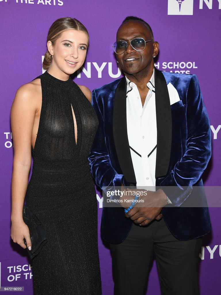 Randy Jackson (R) and guest attend The New York University Tisch School Of The Arts 2018 Gala at Capitale on April 16, 2018 in New York City.