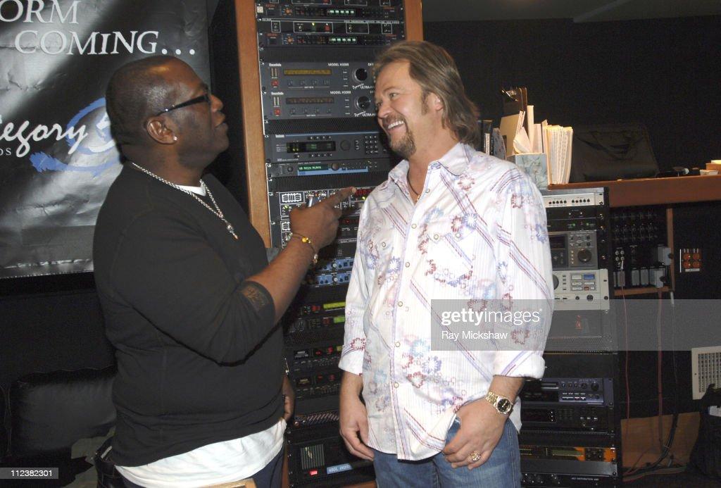 Randy Jackson and Travis Tritt Studio Session - April 6, 2006