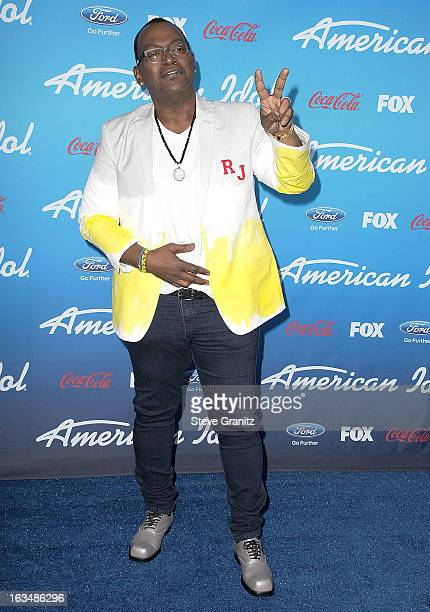 Randy Jackson arrives at the FOX's 'American Idol' Meet The Finalists Event at The Grove on March 7 2013 in Los Angeles California