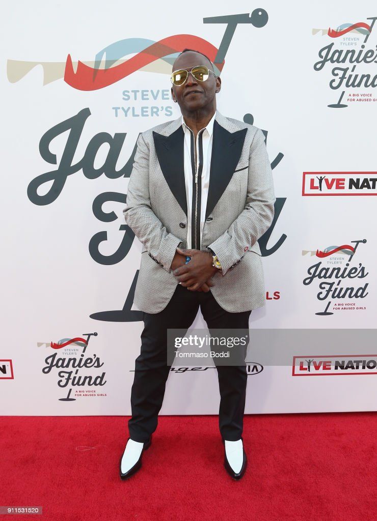 Randy Jackson at Steven Tyler and Live Nation presents Inaugural Janie's Fund Gala & GRAMMY Viewing Party at Red Studios on January 28, 2018 in Los Angeles, California.