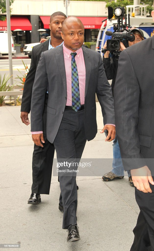 Randy Jackson attends the Jackson vs AEG Court Case at the Los Angeles Superior court on April 30, 2013 in Los Angeles, California. The Jackson family has filed a wrongful death suit against AEG Live for the death of Michael Jackson.