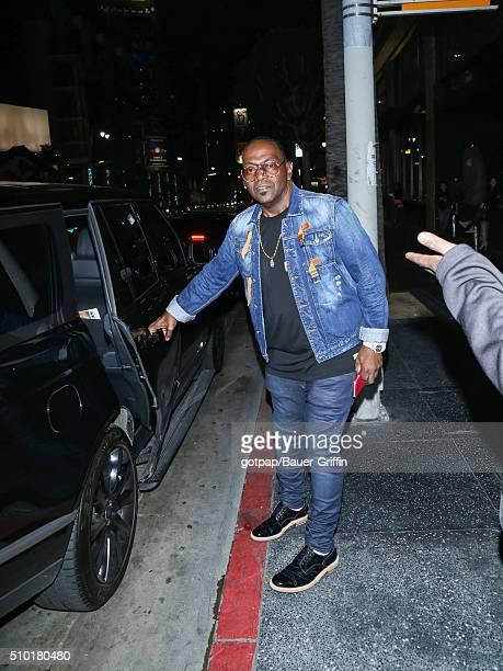 Randy Jackson is seen on February 13 2016 in Los Angeles California