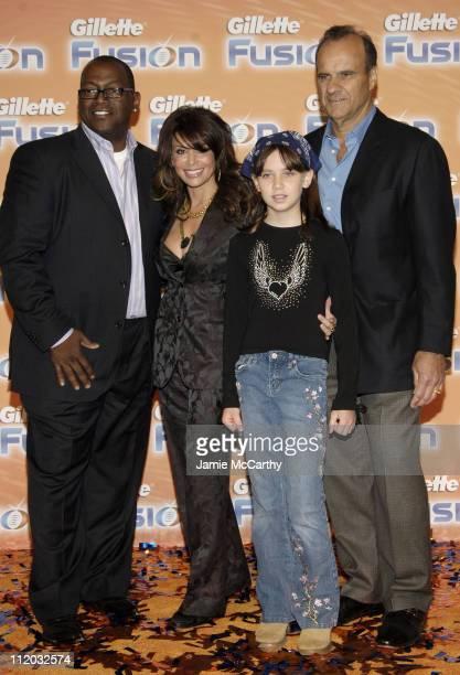 Randy Jackson Paula Abdul Andrea Torre and Joe Torre