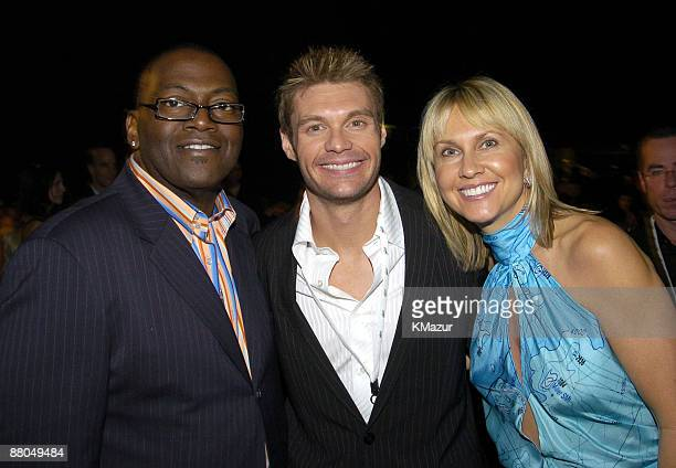 Randy Jackson Ryan Seacrest and Kane Katz