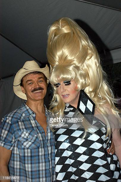 Randy Jones and Bunny during Wigstock Festival 2005 at Tompkins Square Park in New York City, New York, United States.