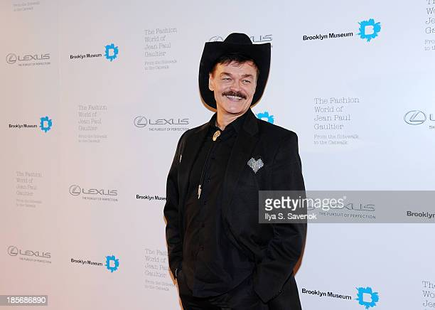 Randy Jones attends the VIP reception and viewing for The Fashion World of Jean Paul Gaultier From the Sidewalk to the Catwalk at the Brooklyn Museum...
