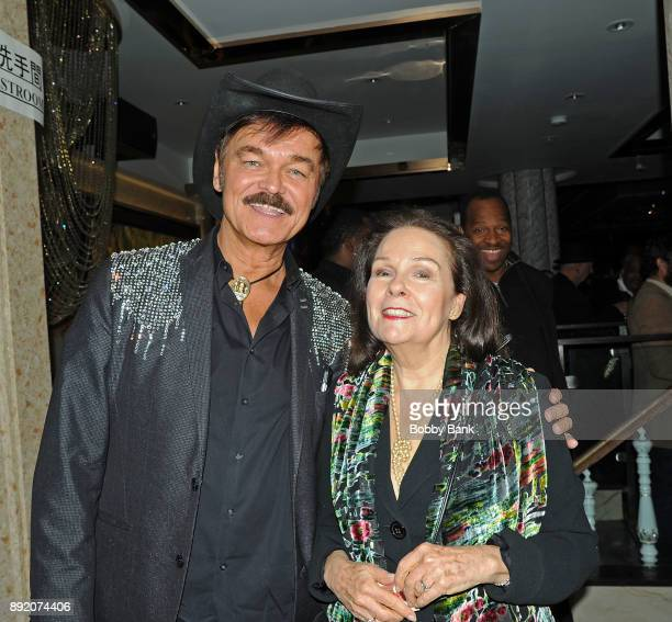 Randy Jones of The Village People and Karen Lynn Gorney attend the Saturday Night Fever 40th Anniversary Celebration at former 2001 Odyssey Disco...