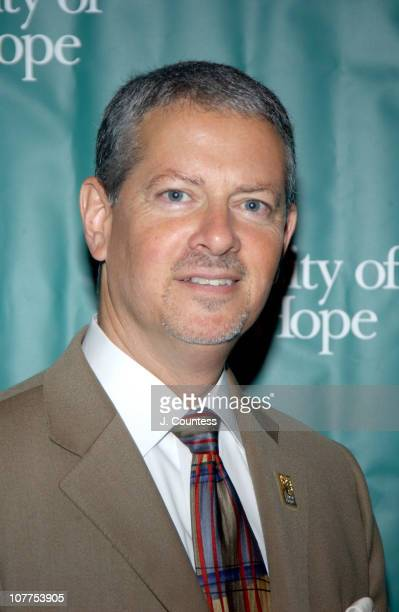 """Randy Lapin of City of Hope during Cindy Crawford Honored as City of Hope's """"Woman of The Year"""" at the 2004 Spirit of Life Luncheon at..."""