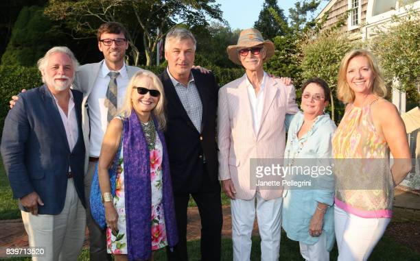 Randy Mastro David Nugent Pat Kaufman Alec Baldwin Charles Brock Mary Jane Brock and Anne Chaisson attend the Hamptons International Film Festival...