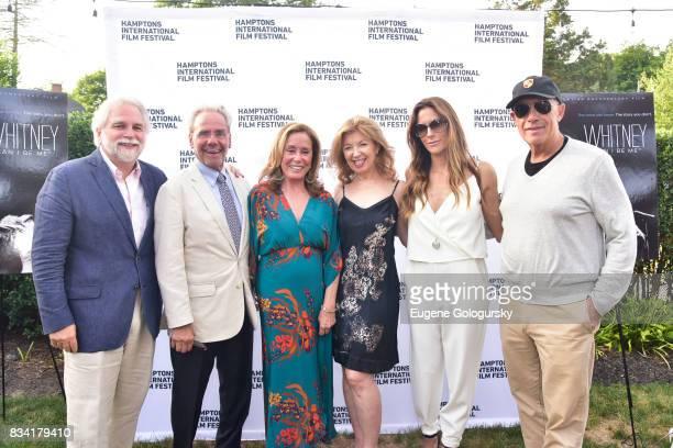 Randy Mastro Keith Green Ann Ciardullo April Gornik Cristina Cuomo and Michael Namer attend the The Hamptons International Film Festival SummerDocs...