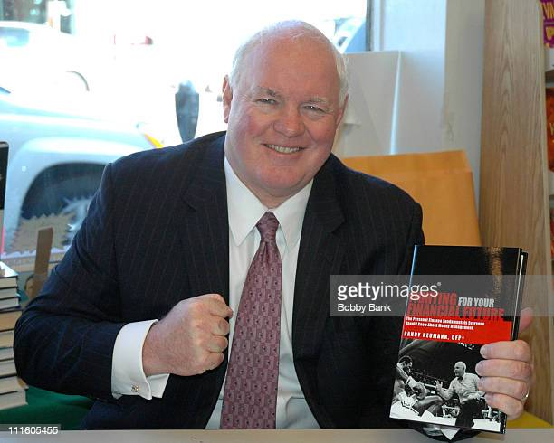 """Randy Neumann during Randy Neumann Book Signing """"Fighting For Your Financial Future"""" at BOOKENDS in Ridgewood, New Jersey, United States."""