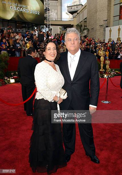 Randy Newman and his wife Gretchen arrive for the 74th Annual Academy Awards held at the Kodak Theatre in Hollywood Ca March 24 2002