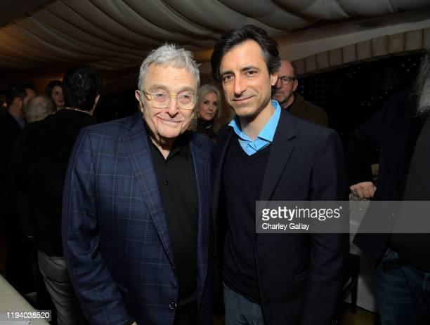 Randy Newman and Noah Baumbach attend the Marriage Story LA Tastemaker at Toscana on December 14 2019 in Los Angeles California