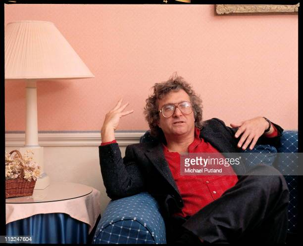 Randy Newman being interviewed London 1988
