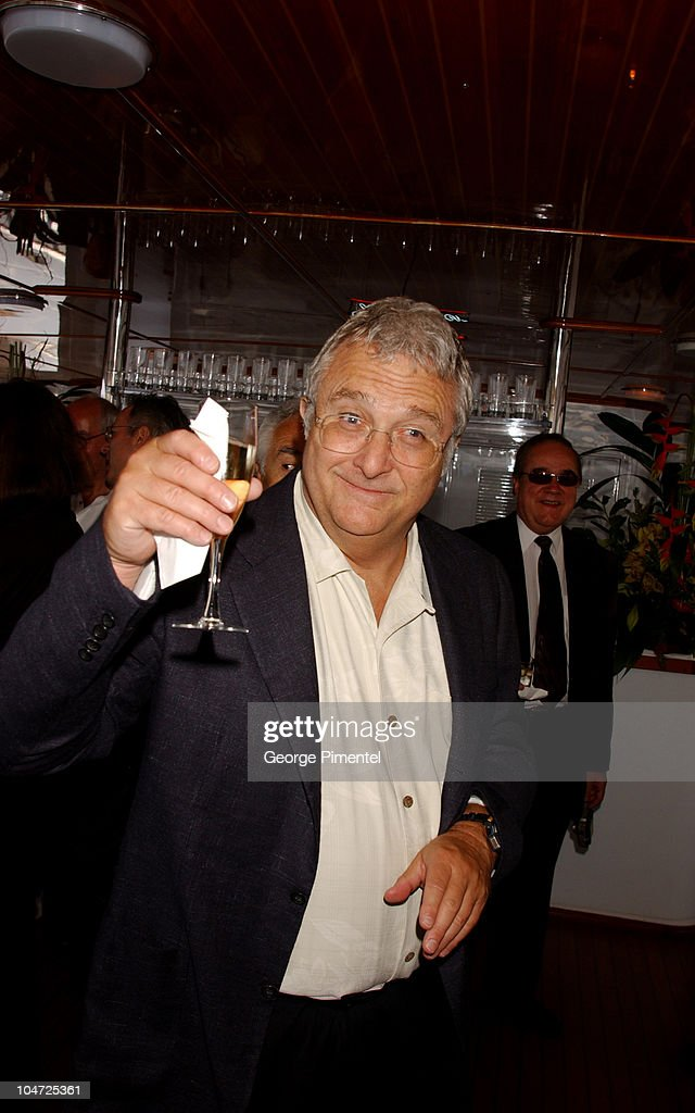 Cannes 2002 - Anheuser Busch and Hollywood Reporter Dinner with Randy Newman